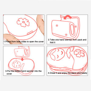 Air-Activated Hand Warmer with PE Cover Recommended pictures & photos