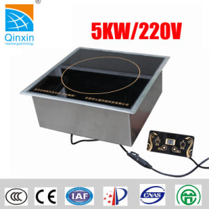 5kw Small Restaurant Commercial Hot Sale Built-in Induction Cooker pictures & photos