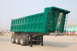 Three Axle Dump Semi Trailer pictures & photos