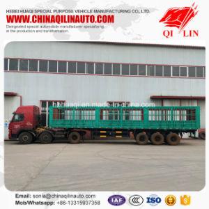 Qilin Brand ISO CCC Certificate Sugarcane Transport Semi Trailer pictures & photos