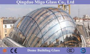 Doubly-Curved Insulated Glass Units - Glass Roofs pictures & photos