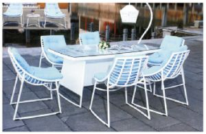 Rattan Table Garden Furniture Sets for Outdoor Furniture