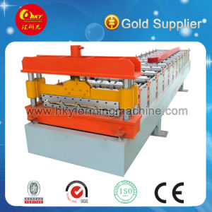Metal Roof Tile and Wall Panel Roll Form Machine pictures & photos