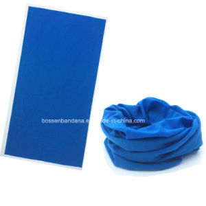 Custom Color Solid Blue Magic Multifunctional Neck Tubular pictures & photos