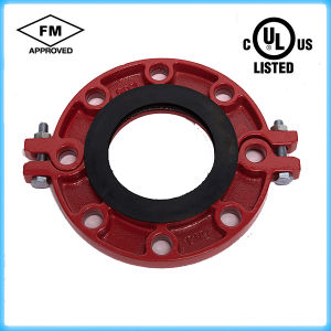 Ductile Iron Grooved Flange Coupling FM/UL Approved pictures & photos