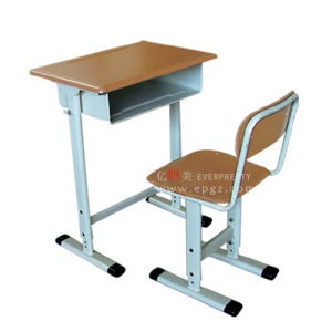Adjustable Classroom Furnitureb Single Desk & Chair pictures & photos