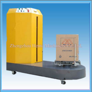 China Famous Automatic Airport Luggage Wrapping Machine pictures & photos