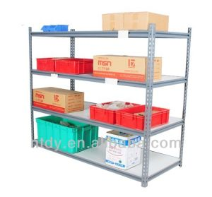 China Supplier Light Duty Metal Shelving Racks Manufacturer pictures & photos