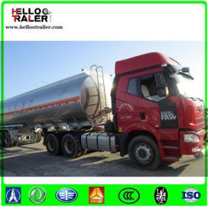 42000 Liters Fuel Tanker Trailer, Oil Tanker Truck Aluminum Fuel Tanks pictures & photos