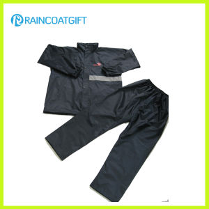 Durable Polyester Waterproof Motorcycle Rainwear pictures & photos