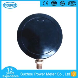 150mm Black Steel Case High Quality Pressure Gauge Precise Manometer pictures & photos