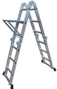 2015 Popular 3.7m Aluminum Folding Ladder