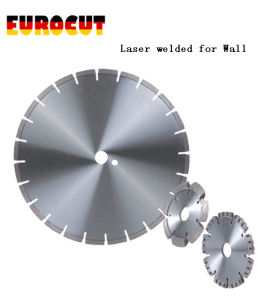 Laser Welded Diamond Saw Blade for Cutting Wall