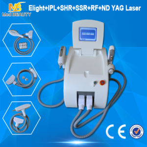 Hair & Tattoo Removal ND YAG Laser+IPL+RF+Elight (CE approval) pictures & photos