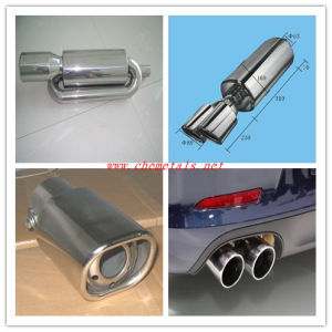 Stainless Steel Polished Exhaust Muffler pictures & photos