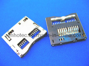 Memory Card Connector Socket, Edge Card Connector, Msd pictures & photos