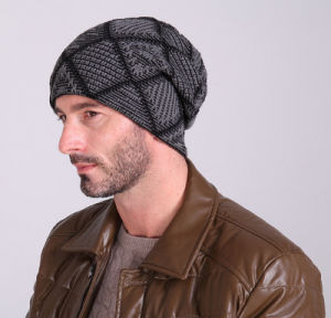 Latest Jersey Wool Ski Warm Set Head Men′s and Women′s Hat pictures & photos