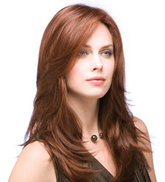 Synthetic Hair Machine Made Wig for European Women pictures & photos