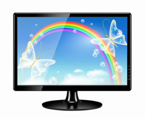 High Quality 24 Inch Wide Screen LCD LED Monitor with VGA HDMI DVI pictures & photos