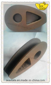 DIN3091 Ductile Iron Malleable Wire Rope Thimble