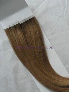 100% Human Remy & Virgin Cuticle Hair / Human Hair Tape Extension pictures & photos