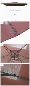 Hz-Um153 6X10ft (2X3m) Push up Umbrella Crank Umbrella with Tilt Outdoor Parasol Garden Umbrella Patio Umbrella pictures & photos
