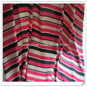 Printed Polyester Dobby Chiffon for Dress