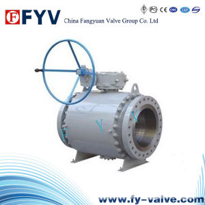 API High Quality Trunnion Ball Valve pictures & photos
