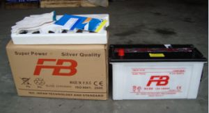 12V100ah Dry Charged Car Battery pictures & photos