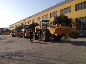 Hot Sale Shangchai Engine & Zf Gearbox 5 Ton Wheel Loader pictures & photos
