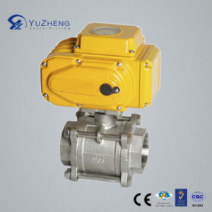Electric Actuator Stainless Steel 3PC Ball Valve pictures & photos