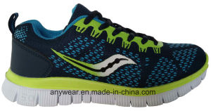 Athletic Men Running Footwear Training Sneakers Gym Sports Shoes (816-9975) pictures & photos