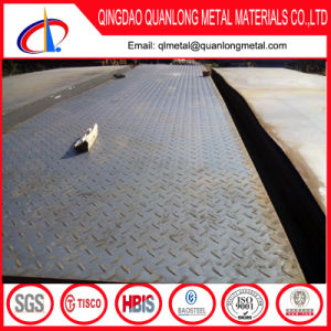 Hr Mild Iron Steel 6mm Thick Chequered Plate pictures & photos