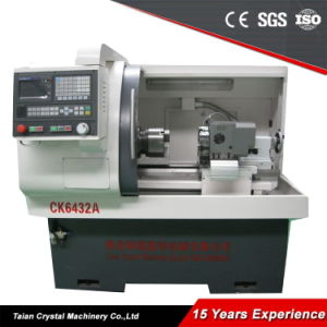 Cheap Micro CNC Lathe Gang Type CNC Machine (CK6432A) pictures & photos
