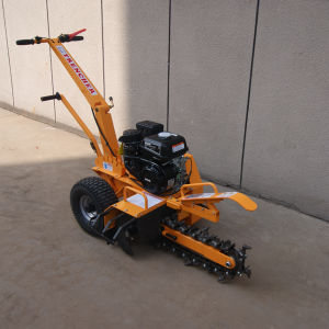 7HP Max 450mm Trench Depth Trencher, Mini Trencher, Garden Trencher pictures & photos