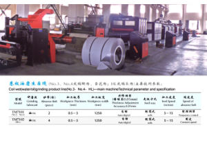 Coil-to-Coil Wide Belts Polishing Machine (COG-T3-1250-2) pictures & photos
