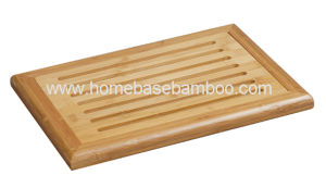 Bamboo Bread Cutting Board Chopping Cheese Board Kitchenware Hb2253 pictures & photos