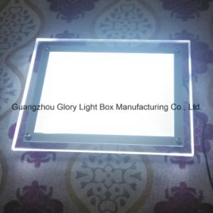 Carved Light Guide Panel Acrylic Frame pictures & photos