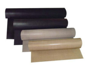 PTFE Glassfiber Sheet, Teflon Glassfiber Sheet Backing Adhesive Ot Nothing Adhesive pictures & photos