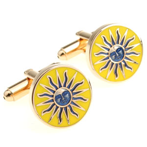Customized Brass Cufflink with Promotional Logo pictures & photos