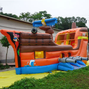 Inflatable Pirate Ship Bouncy Slide (CYSL-592) pictures & photos