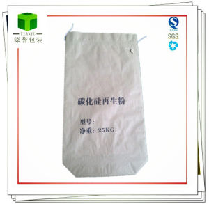 Square Bottom Paper Bag for Silicon Carbide Regeneration Powder pictures & photos