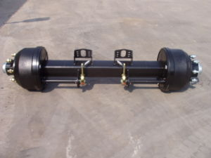 Trailer Axle 12t English Type Axle Square Beam Axle pictures & photos