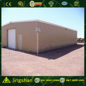 Lingshan Pre Engineered Steel Building with ISO9001; 2008 (L-S-061) pictures & photos