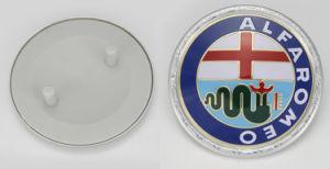 Customized Alfa Romeo Round Car Badge (BD022)