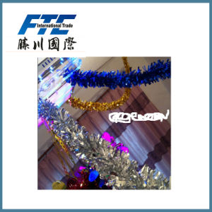 PVC Christmas Ornaments Tinsel for Christmas Decoration pictures & photos