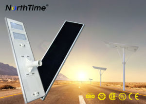 IP65 High Liumen Integrated Solar Street Light with Phone APP Control 110W pictures & photos