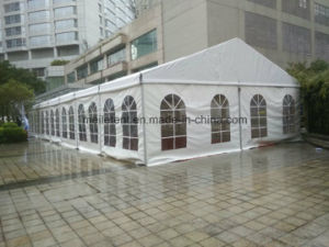 200 People Fancy White Canvas Tent Outdoor Lawn Tent pictures & photos