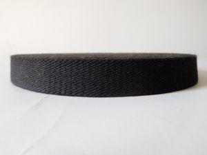 Fire Protection Black Aramid Webbing for Industry or Garment Accessories pictures & photos