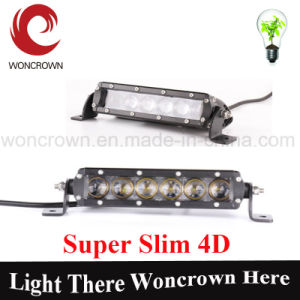 Black 4D 120W 25 Inch -USA Light Bar Spot Flood Combo LED Marine Sailboat Yacht Schooner Airboat Ferry Fishing Vessels pictures & photos